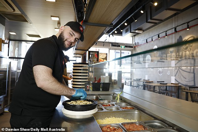 Today Dilan employs 17 staff at the Marsden Park Pizza Hut in north-west Sydney - including several mates who had struggled to find employment because of the COVID-19 pandemic