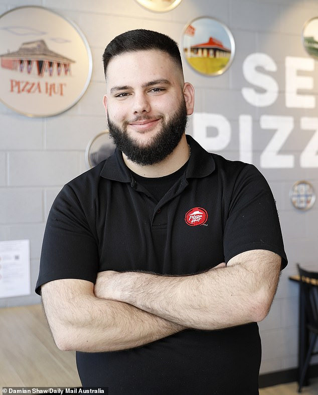 Dilan Elia had never heard of Pizza Hut when he came to Australia without speaking English as a seven-year-old. He began working for the chain aged 14 and became the fast food giant