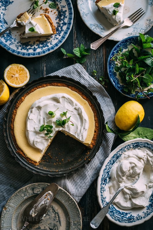Meyer Lemon Pie Recipe is Favorite Lemon Pie Ever