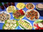 Закуски фуршет на праздничный стол – Закуски для фуршета – 10 рецептов на праздничный стол