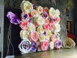 Бумага для больших бумажных цветов – Как делать большие цветы из бумаги | Лавка идей | Мастер классы