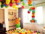 Как украсить на 1 годик комнату – советы и рекомендации по оформлению