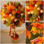 Осеннее дерево из листьев своими руками мастер класс – Мастер-класс «Топиарий из осенних листьев»: как сделать своими руками