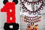 День рождения в стиле микки мауса для мальчика 1 год – День рождения в стиле Микки Маус: идеи оформления и фото