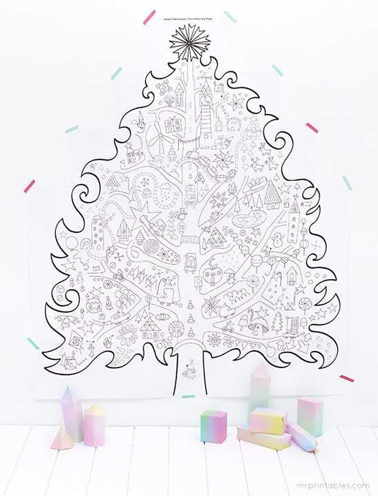 Большая раскраска на стену – Большие раскраски-плакаты на ...