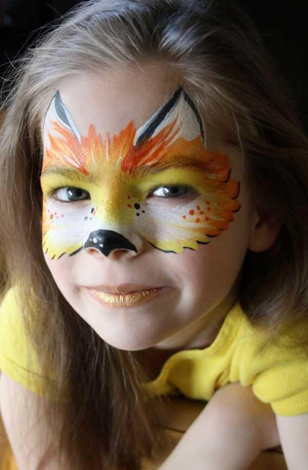 Аквагрим, грим, кошка, киса face painting, make-up, pussycat, cat ... | 916x600